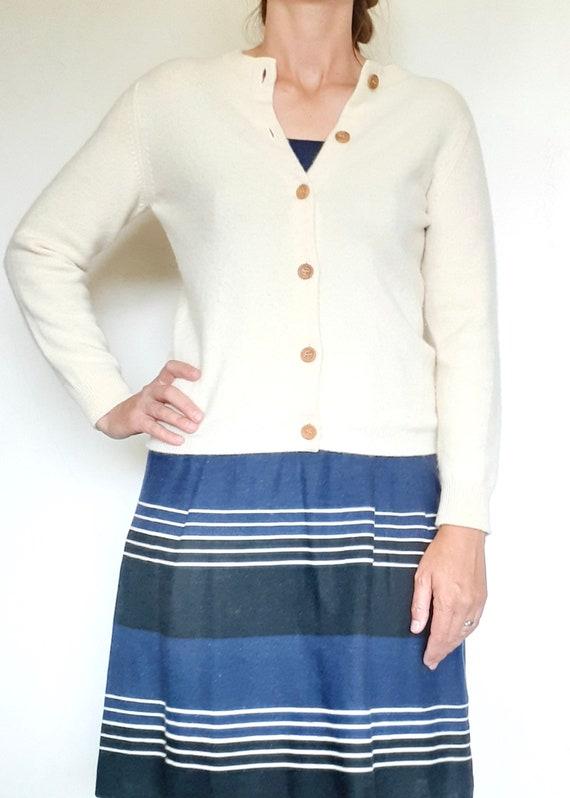 Vintage 1950s I. Magnin Cashmere Cardigan