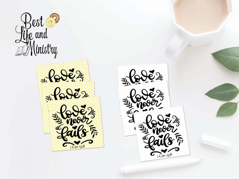 JW International Convention Gift Tags | Love never fails favor tags | JW  gifts | jw convention 2019 | 1 Cor 13:8 | jw printable