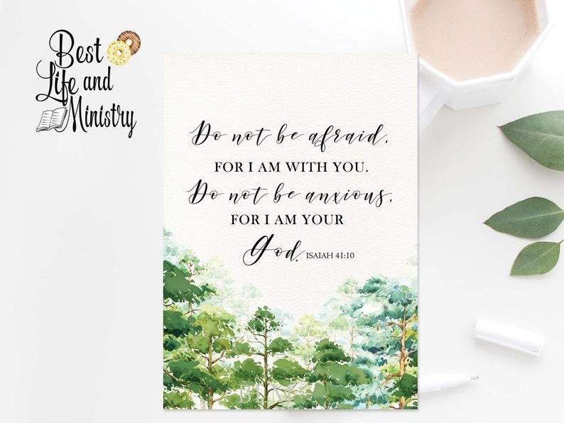 JW 2019 Year Text   2019 year text jw   Isaiah 41:10  Floral Year's Text    jw printable art   jw decor   Digital Download