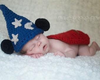 Newborn mickey hat  b885d3f0b213