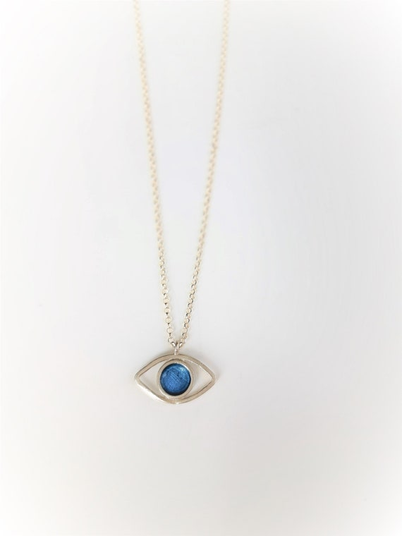 gift for her,evel eye NECKLACE PENDANT TURQUOISE Eye Silver or Goldplated Silver Turquoise jewelry gemstones necklaces crystal jewellery
