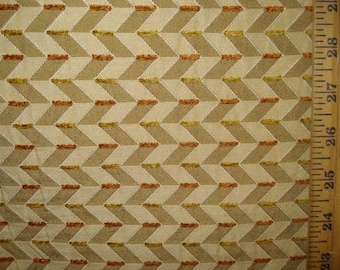 GOLD WOVEN GEOMETRIC Upholstery Fabric, 08-14-20-0911