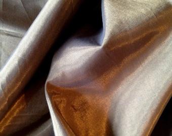 MOOD BRONZE Fabriccut shimmering satin DRAPERY fabric 18-16-78-0212