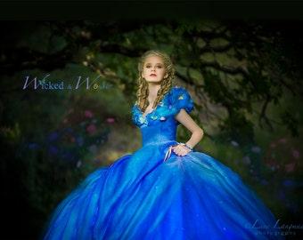 Cinderella Costume 2015 Cinderella Dress Tween Teen Adult Cinderella teen 2015 Movie Dress Disney Princess Halloween Costume  sc 1 st  Etsy & Cinderella Dress Cinderella Costume Adult Cinderella Dress