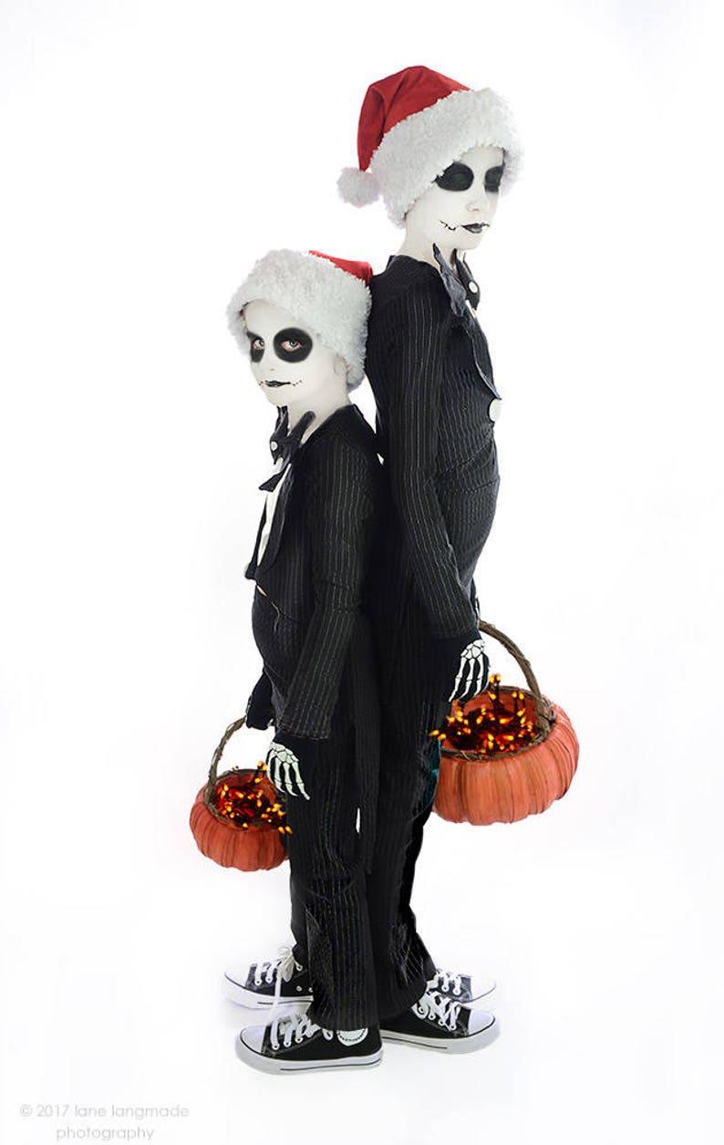 b68b215872f JACK SKELLINGTON Costume Nightmare Before Christmas Black