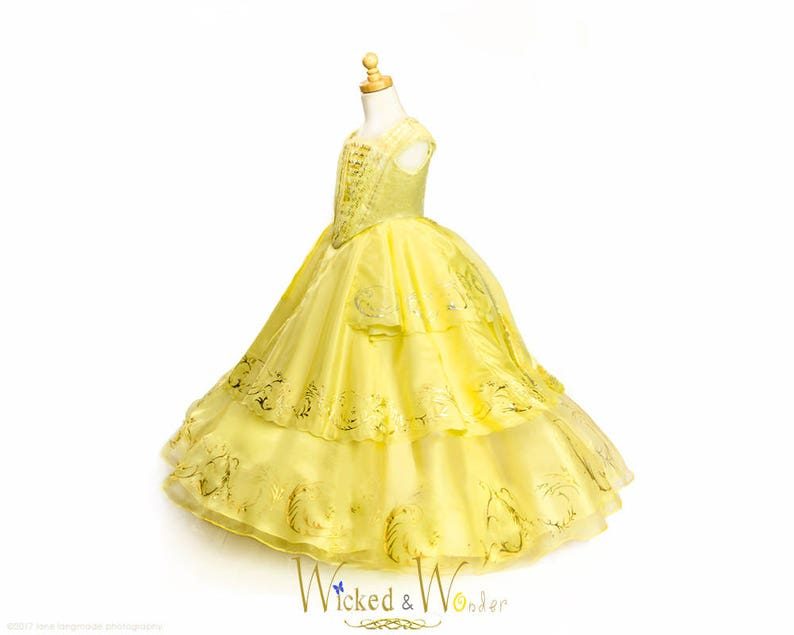 Belle Dress Adult Beauty And The Beast 2017 New Belle Etsy