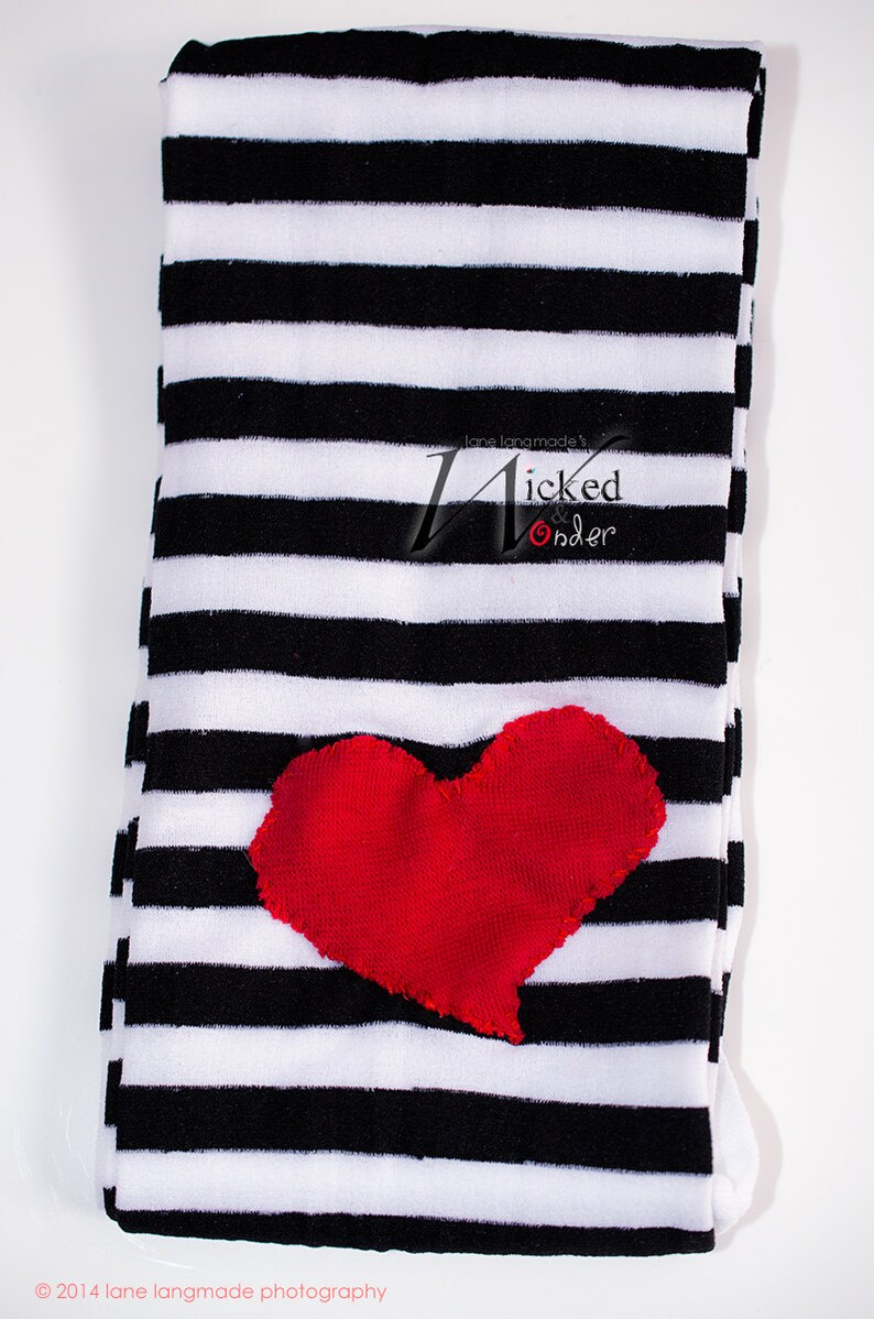 93aada31231af Peanut Big Top Lalaloopsy Tights Black and White striped with   Etsy