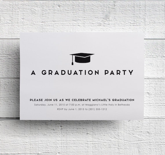 White College Graduation Party