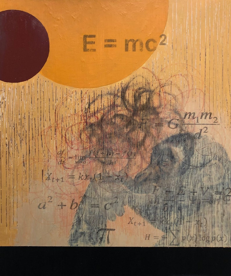 The Theories. Math equations Primate Science and Art image 0