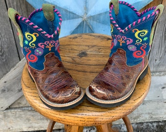 Little cowgirl boots by Ariat