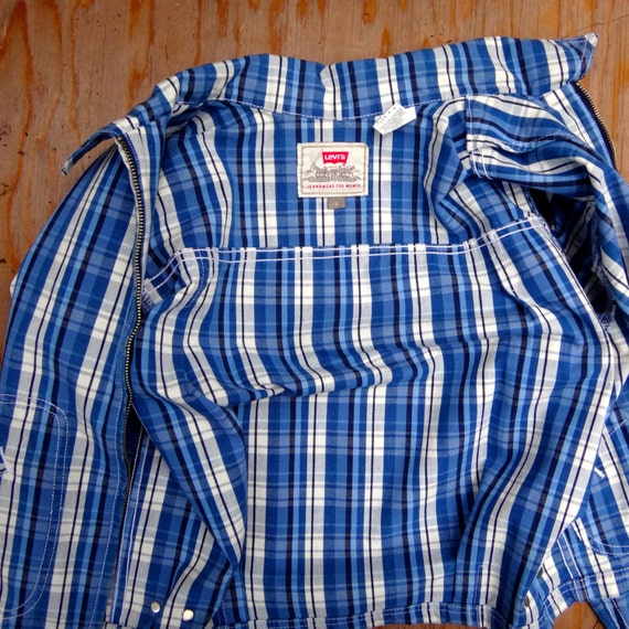 Levis plaid jacket, the 80's does the 50's - image 4