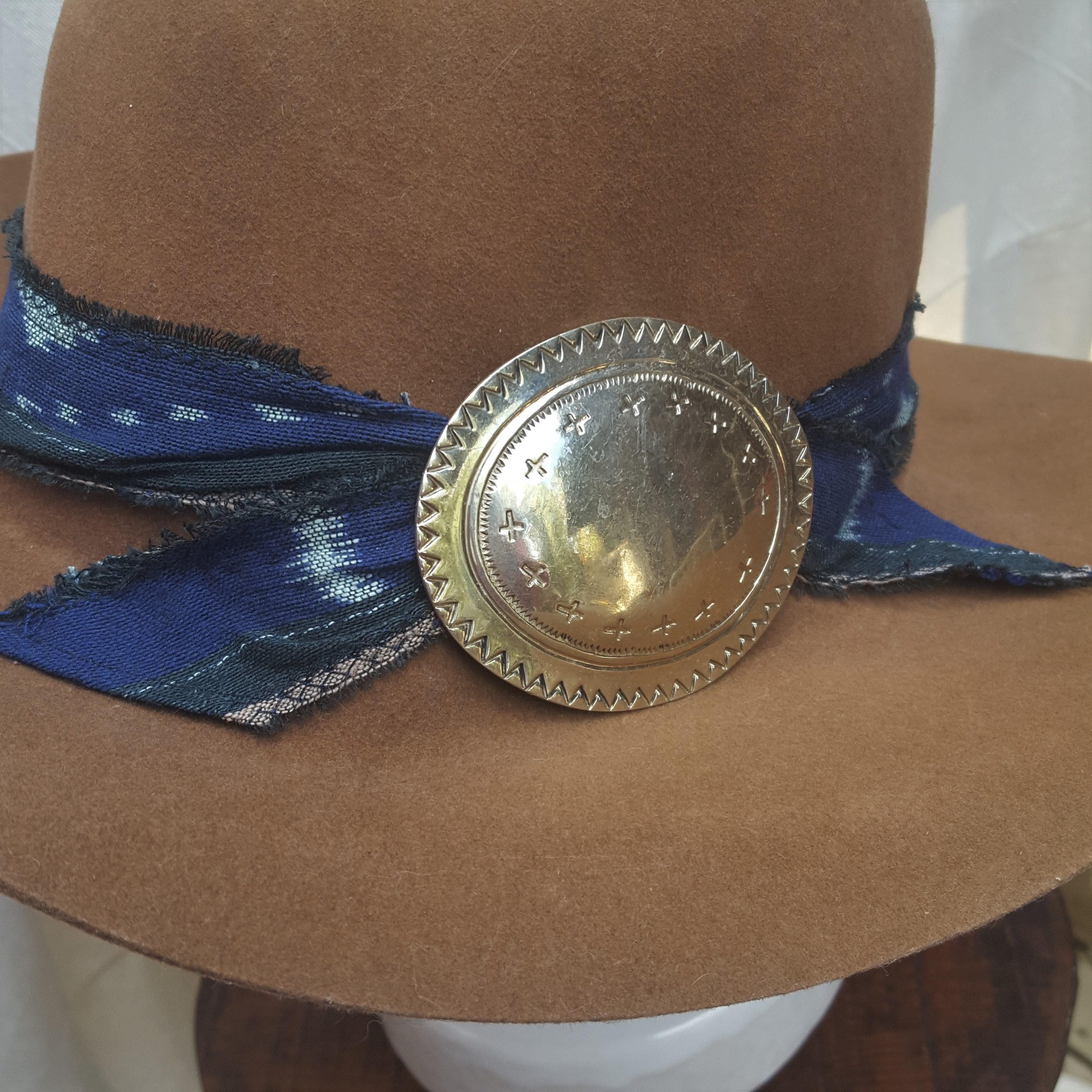 d90f7877a distressed vintage cowboy hat