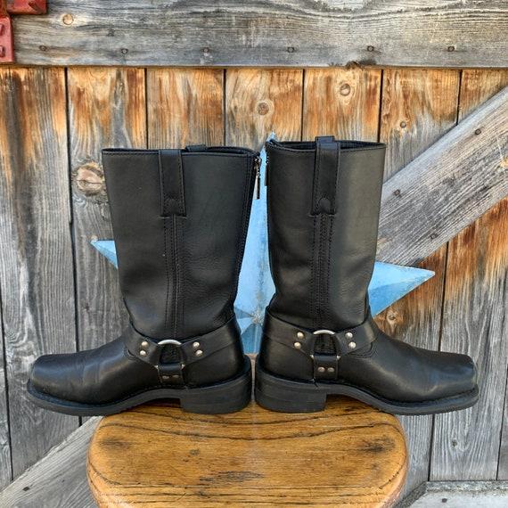 Milwaukee, harness, biker boots