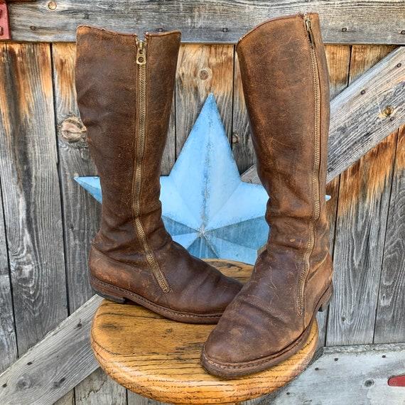 Antique, Edwardian riding boots,