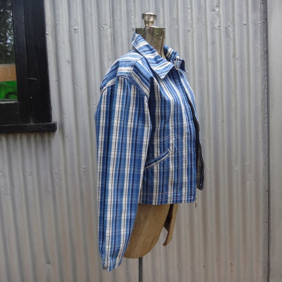 Levis plaid jacket, the 80's does the 50's - image 2