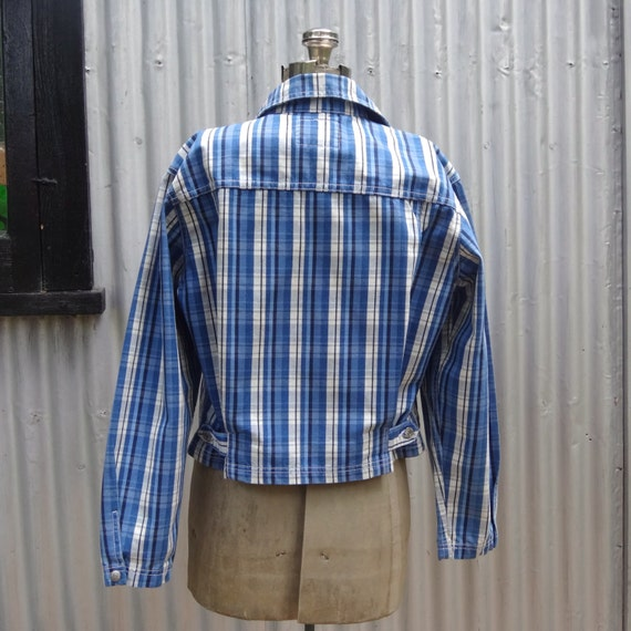 Levis plaid jacket, the 80's does the 50's - image 3