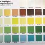 Standard Thompson Enamel 2 oz or 8 oz jar, Opaque Colors, 1000 Series, Vitreous Enamel, Powder Enamel. Enamel, Glass for Metal, Enameling