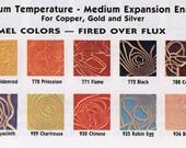 Cocoa Brown 788, Thompson Enamel, Liquid Enamel, Powdered Glass, Enameling Supplies, Kiln Enamel, Torch, 1 oz. sample enamel