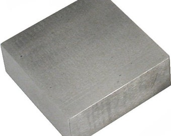 Bench Block, Economy Bench Block, Metalworking Tool, Steel Bench Block, 2.5 x 2.5 Anvil, Jewelry Making Tool, Painting with Fire