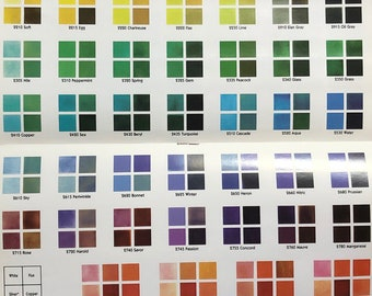 G Grade Thompson Enamel 2 oz or 8 oz jar, Transparent Colors, 2000 Series, Vitreous Enamel, Powder Enamel. Enamel, Glass for Metal