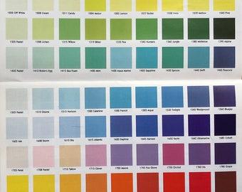 G Grade Thompson Enamel 2 oz or 8 oz jar, Opaque Colors, 1000 Series, Vitreous Enamel, Powder Enamel. Enamel, Glass for Metal, Enameling