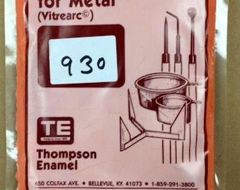 Red Liquid Enamel, Thompson Enamel, Liquid Enamel, Powdered Glass, Enameling Supplies, Kiln Enamel, Torch Enamel, 1 ounce sample enamel
