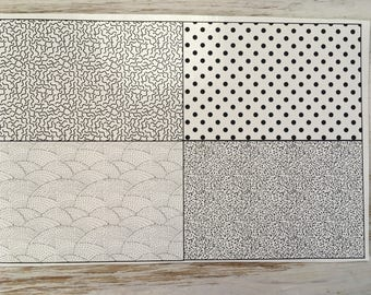 Decal, Enamel Decal, Enamel Supply, Ceramic Decal, Torch Fired, Squiggles and Dots, Enamel Supply, Barbara Lewis, Painting with Fire Studio