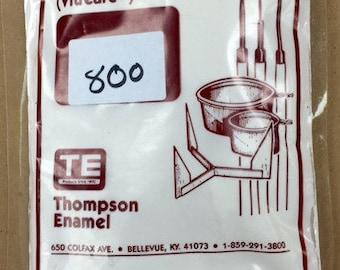 Thompson Enamel, Pink Liquid Enamel, Liquid Enamel, Powdered Glass, Enameling Supplies, Kiln Enamel, Torch Enamel, 1 ounce sample enamel