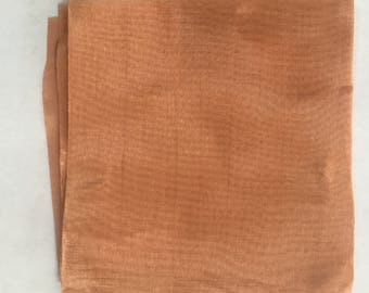 Copper Mesh, Copper Mesh for Enameling, Painting with Fire, Torch Fired Enameling, Copper Supply, Barbara Lewis, 12 x 12 sheet
