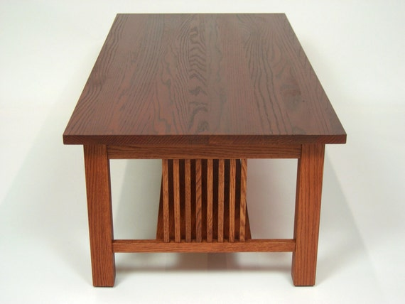 Strange Mission Oak Arts Crafts Stickley Style Coffee Cocktail Table Bralicious Painted Fabric Chair Ideas Braliciousco