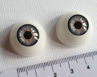 1 pair stone-pattern mauve dolls eyes bjd eyes plushie eyes toy eyes Reborn doll eyes 20mm  0.78 inches