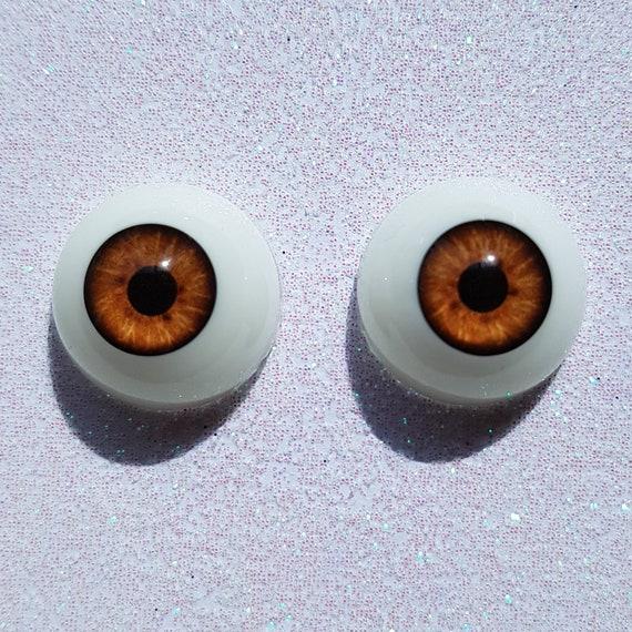 Good 8mm Light Grey Glass BJD Eyes for AOD OOAK BJD Dollfie