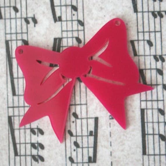 3 x Laser cut acrylic Key pendants