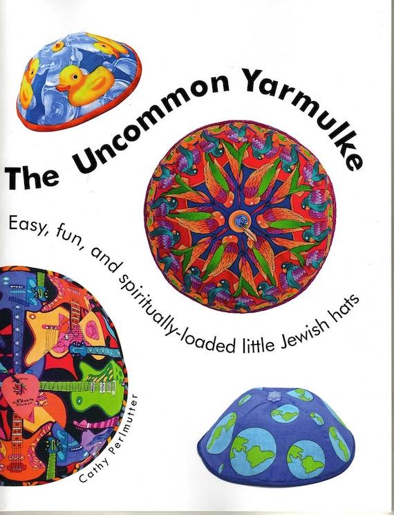 The Uncommon Yarmulke How To Make Easy Spiritually Loaded Etsy