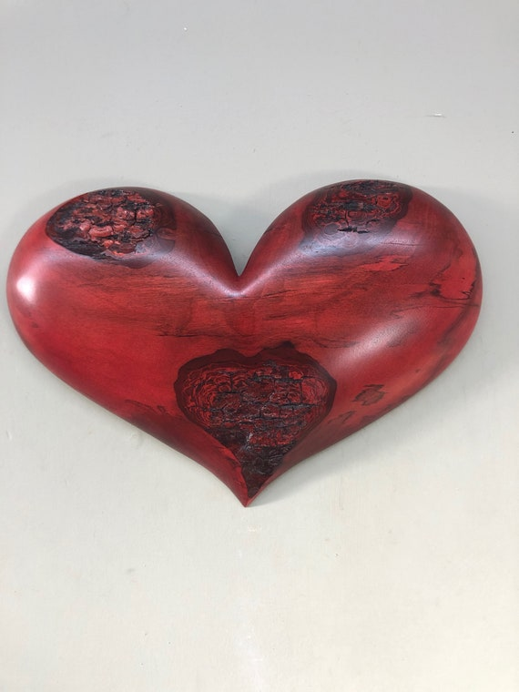 Mother's Day red heart art wall gift present idea