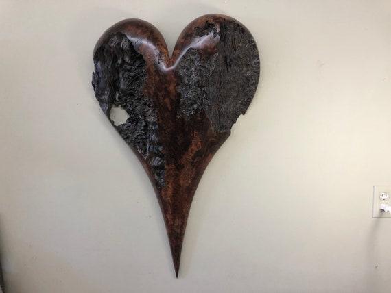 Heart wall art 50th Wedding Anniversary gift present