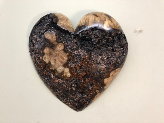 Christmas Hearts wood wall heart art gift present