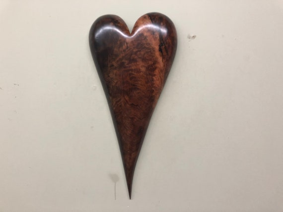 Heart art wood wall 5th Wedding Anniversary gift present