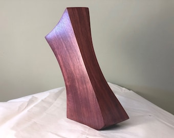 Abstract art wood carving wood sculpture table art