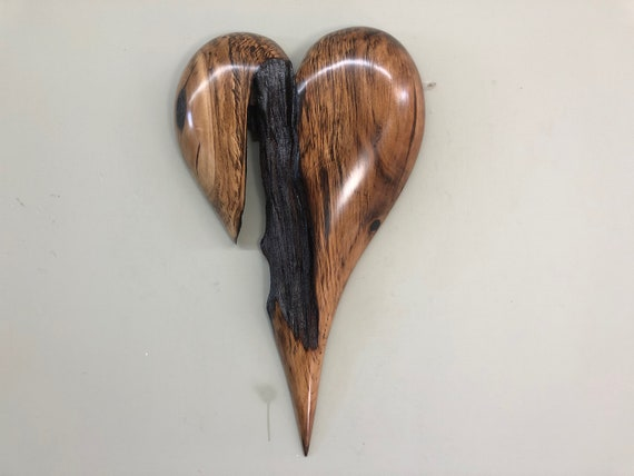 Heart art 50th Wedding Anniversary present gift for wife