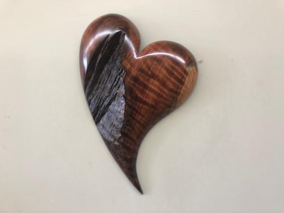 Redwood 50th Anniversary present wall heart art