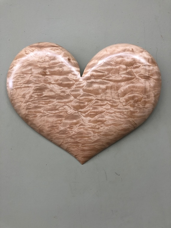 Wooden Heart art wood carving Wall Hanging Valentine Gift