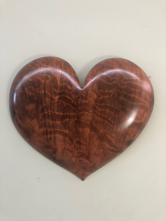 Redwood 50th Anniversary present wall heart art