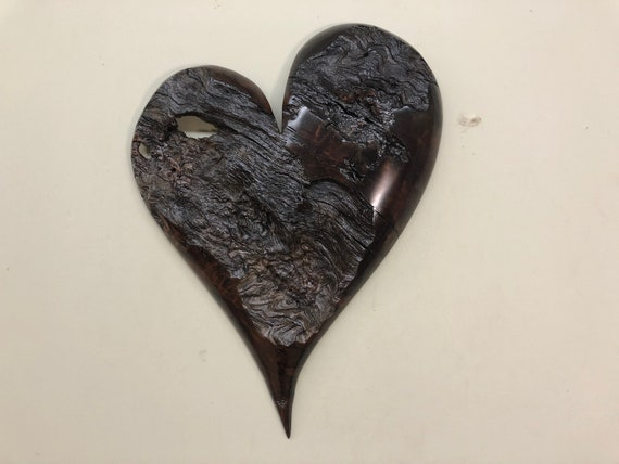 Heart art wood wall Wedding present gift present