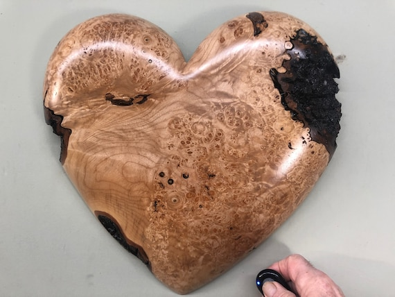 Valentines Day wood wall heart gift present idea