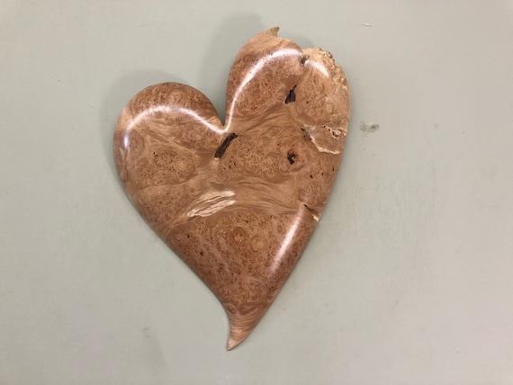 Wedding wood wall heart gift present idea