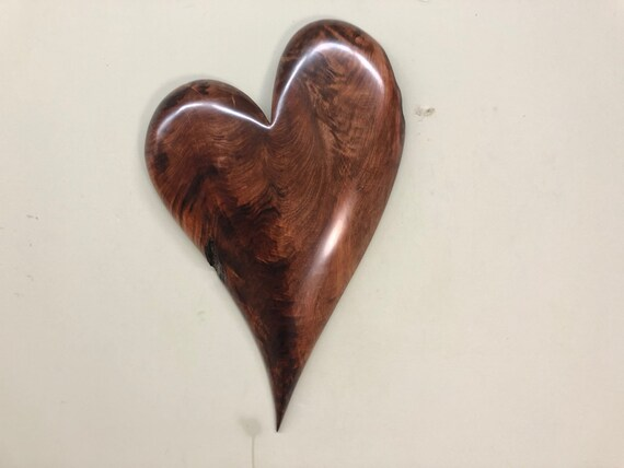 Heart wood wall 5th Wedding Anniversary gift present