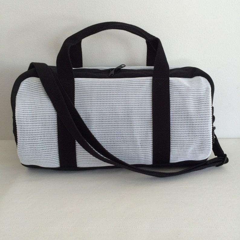 Vegan Duffle Bag Lightweight Mesh Gym Bag Mesh Duffle