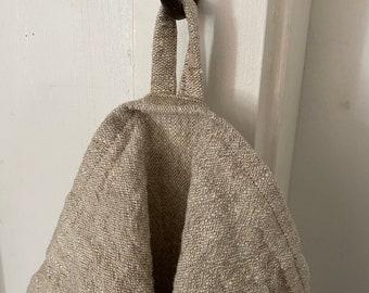 Linen Tea Towel, Natural, Heavyweight