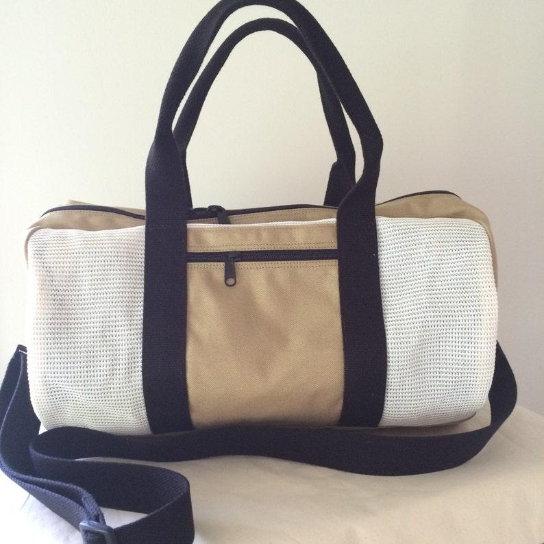 Duffel Bag Weekender Bag Mesh Gym Bag Vegan Travel bag